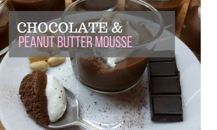 Best Chocolate & Peanut Butter Mousse