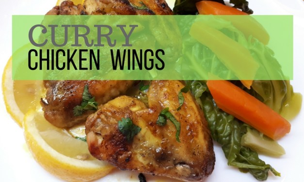 Curry Chicken Wings Recipe