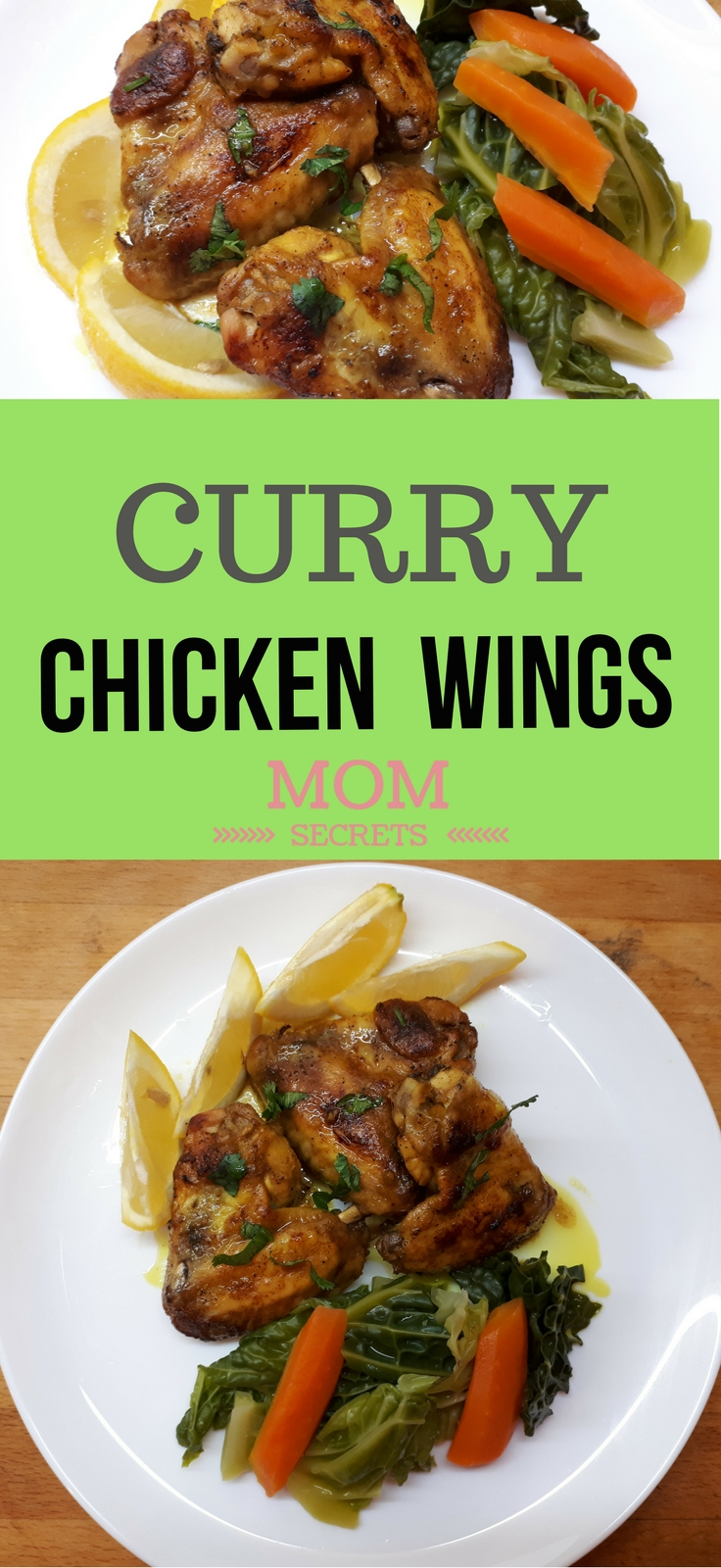 These oven-baked chicken wings are so delicious. This recipe brings us the Indian flavors through the curry taste. It can be a keto or paleo dish. This is a very tasty way to make wings.