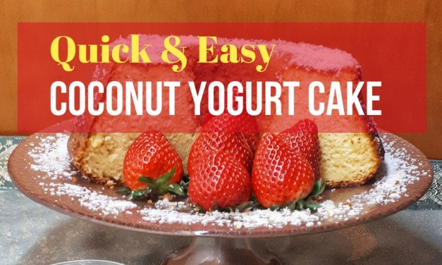 Easy Coconut Yogurt Cake