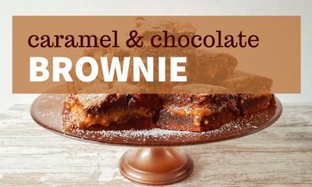 Caramel & Chocolate Brownie