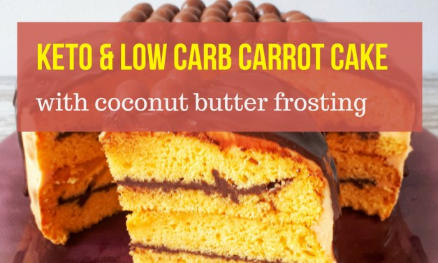 Keto Carrot Cake With Coconut Butter Frosting