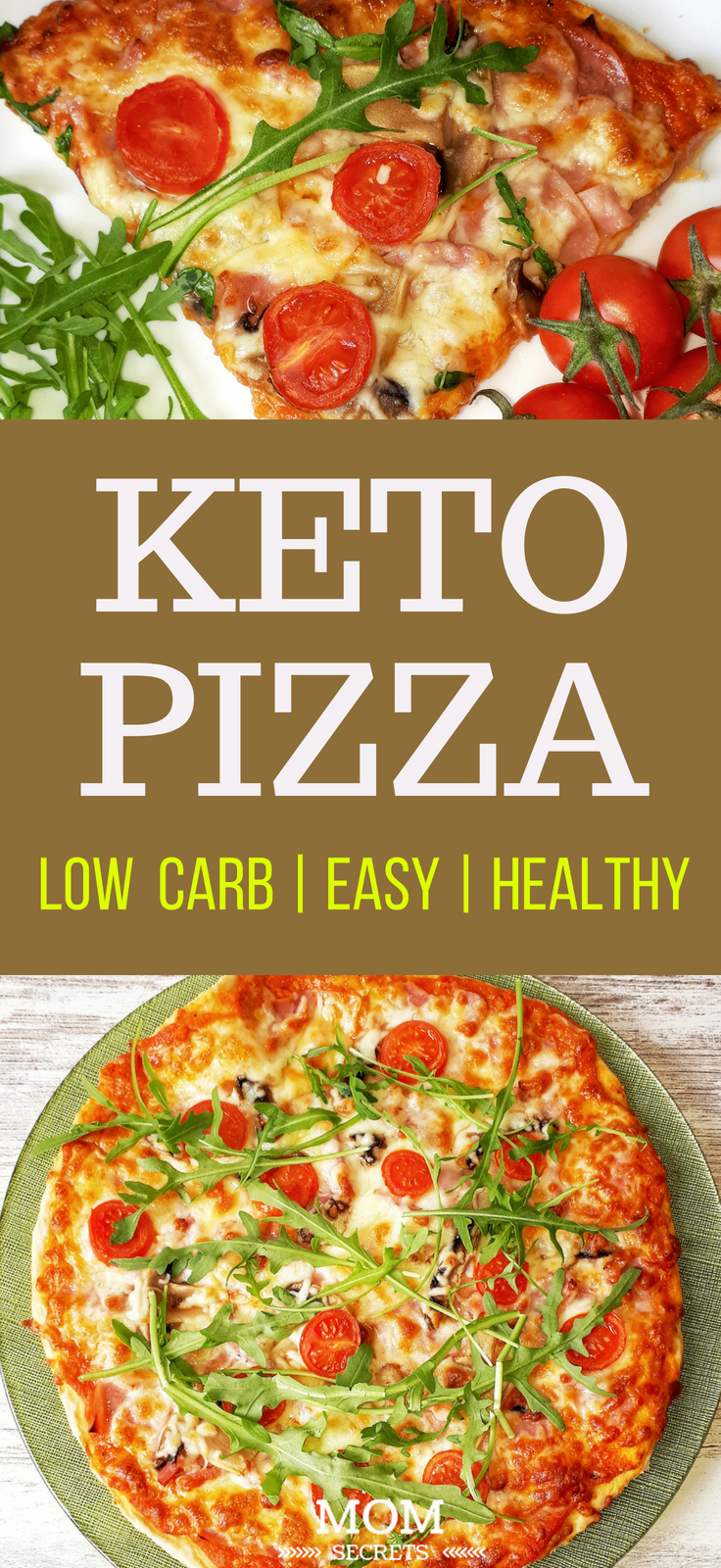 This low carb pizza dough it's keto-friendly, gluten-free, grain-free, and quickly becomes the holy grail of low-carb crusts. It tastes amazing and is so simple to make!