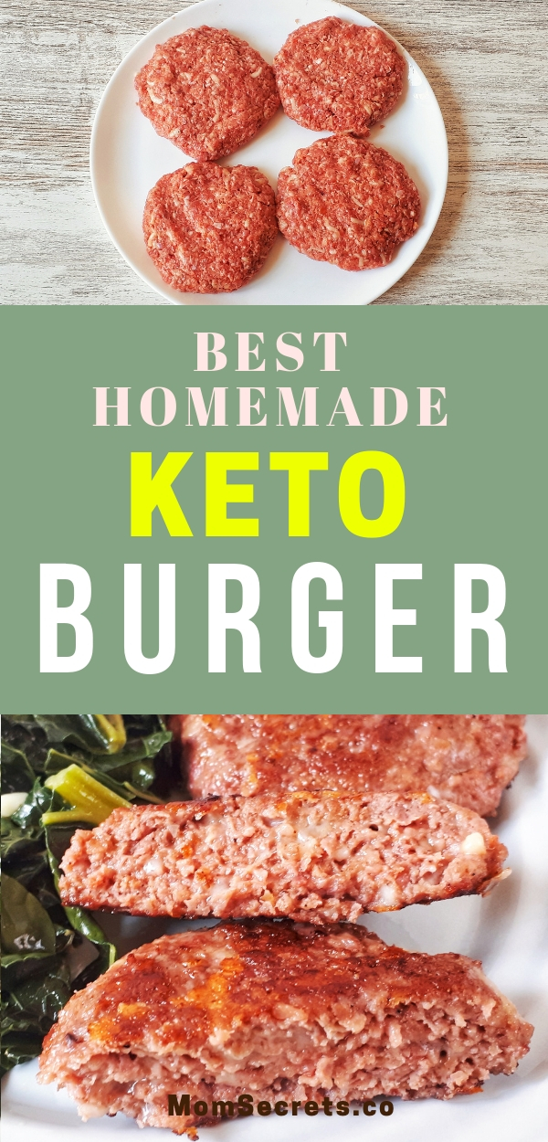 This homemade grilled burger the best low carb, keto, healthy and flavorful recipe you ever saw. It´s sooo easy to make!!!