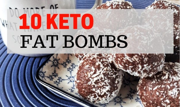10 Keto Fat Bombs Recipes