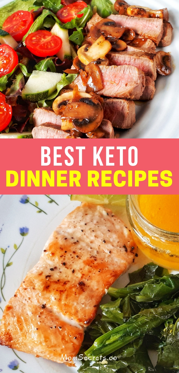 If you are on a keto diet and you are a busy person, here you have my best keto dinner recipes. All recipes are really easy, simple and quick to make.