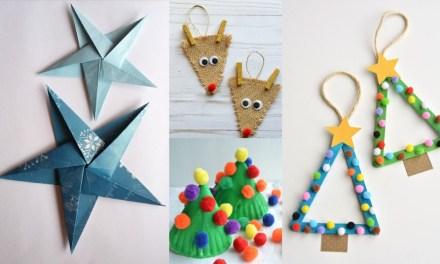 12 Christmas Crafts DIY for Kids To Make