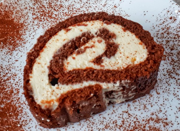 Chocolate Roll Cake is an easy and simple recipe for your Christmas table. This roll cake is low carb, keto,and sugar-free. It's completelyto die for!
