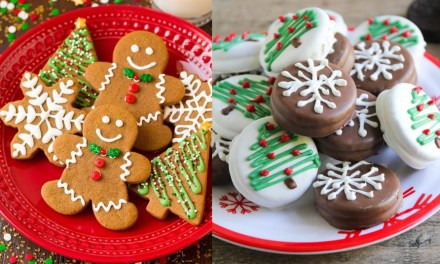 Easy Decorated Christmas Cookies – 10 Best Cookie Recipes