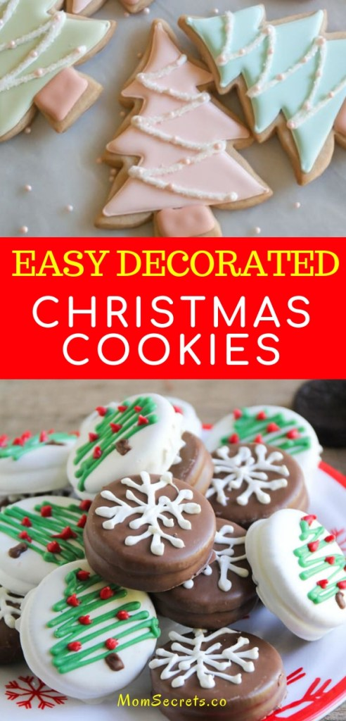 Are you looking for Christmas cookies recipes? I've got a collection of great recipes you can try this year! Save 10 easy decorated cookie recipes.