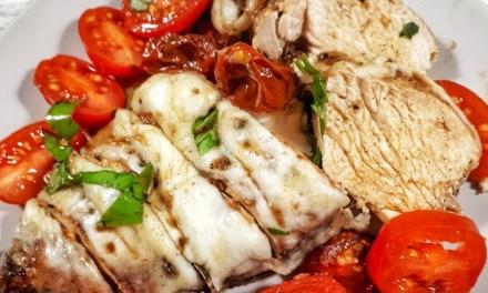 Chicken Breast with Mozzarella & Tomatoes
