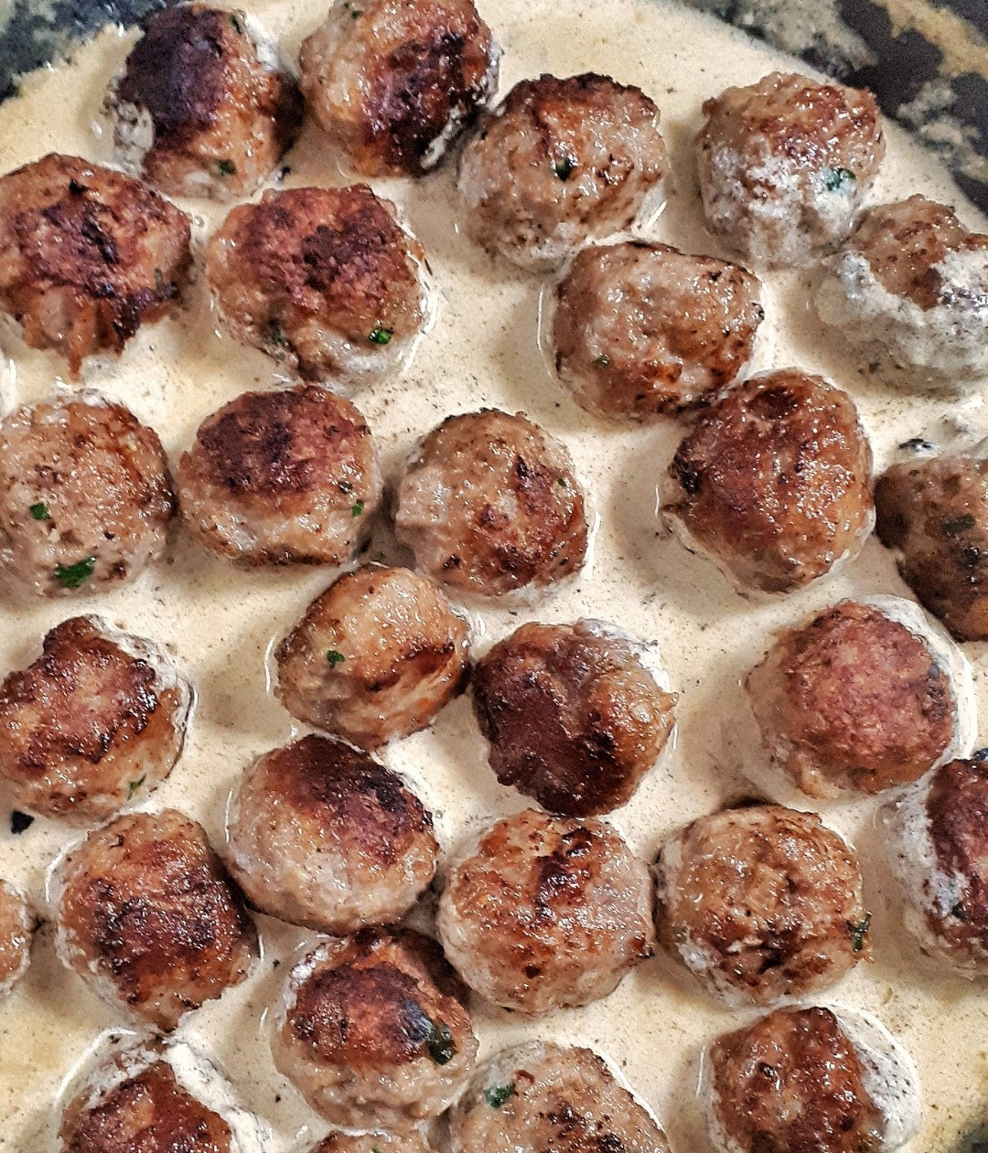 This is the best keto Swedish meatballs recipe. Perfect appetizer or main dish, they are flavorful and have the most amazing creamy gravy sauce.