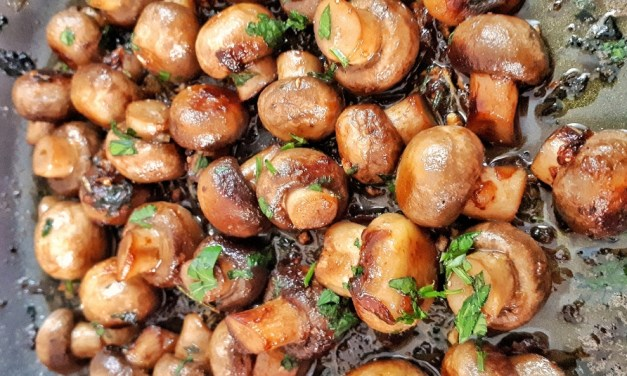 Garlic & Rosemary Mushrooms – Keto Side Dish