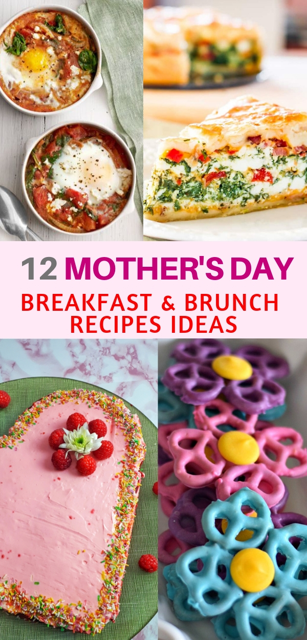 Here you can find some amazing and delicious ideas for Mother's Day breakfast and brunch recipes... She will love them!!