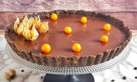 Keto Chocolate Ganache Tart