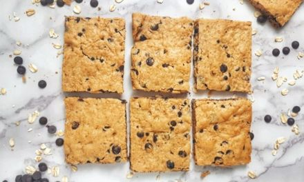 Weight Watchers Chocolate Chip Cookies Bars with 3 smartpoints