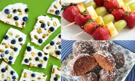 Back To School Snacks For Kids – a Month of Healthy & Easy Ideas