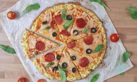 Keto Zucchini Pizza Crust