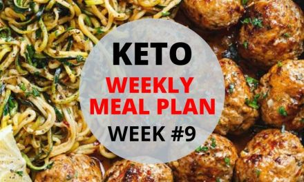 Weekly Keto Meal Plan – #Week9