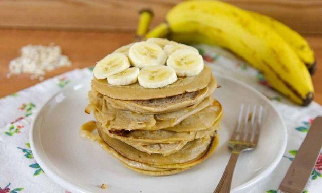 Healthy Gluten-free & Sugar-free Oatmeal Pancakes