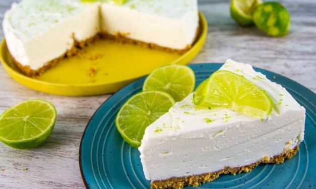 No Bake Keto low Carb Key Lime Cheesecake Easy Recipe