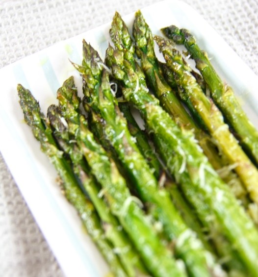This quick and easy recipe for oven-roasted asparagus is the perfect spring side dish. Low carb, keto, and the bestside dish to any meal!