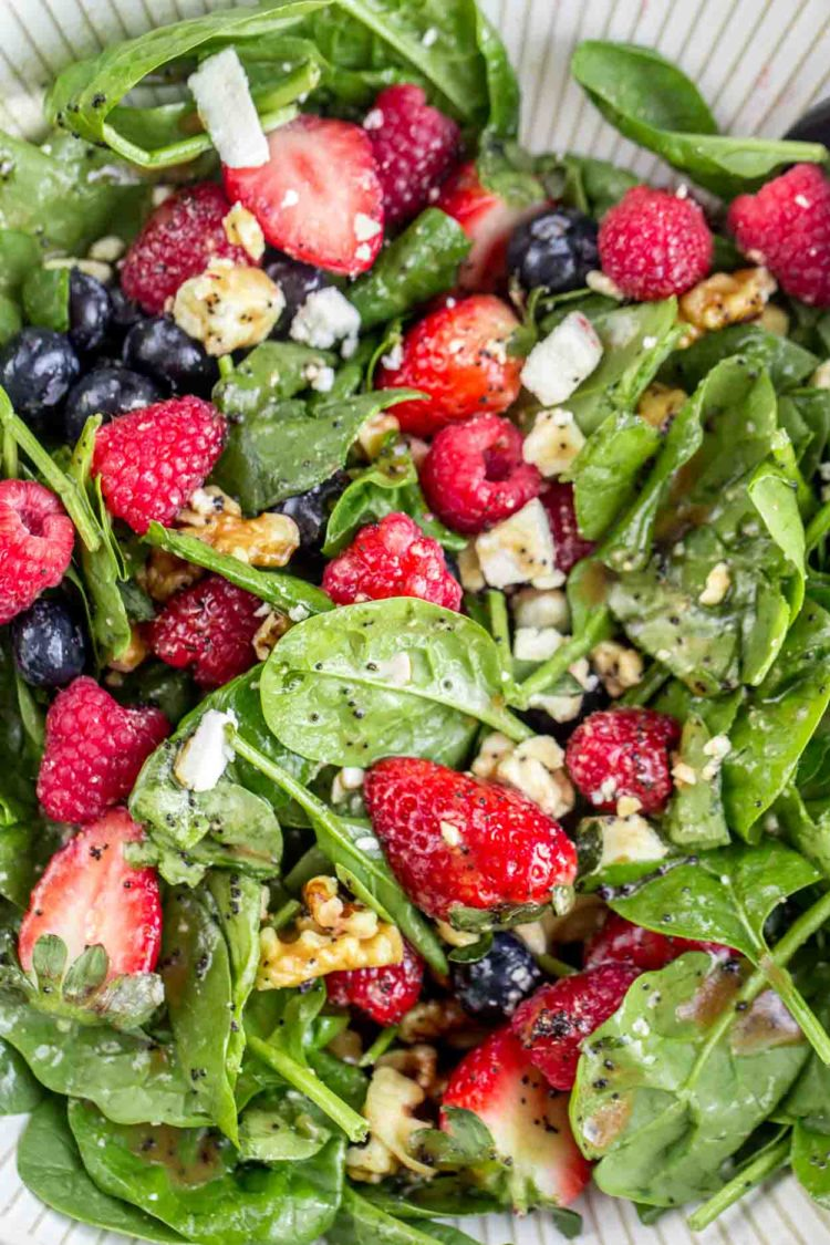 These salad recipes are perfect for summer cookouts and easy family dinners and are some of the best ways to use the season's delicious fruits and veggies.