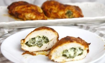 Spinach Stuffed Chicken Breast – Keto Low Carb Recipe