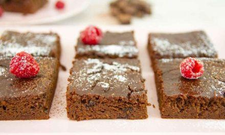 Fourless Paleo Sweet Potato Brownie Recipe