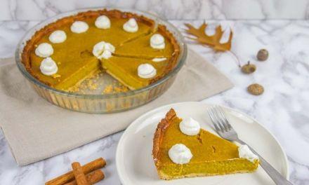 The Best Keto Low Carb Pumpkin Pie