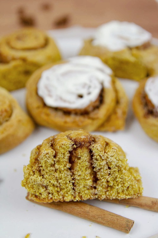 Pumpkin Cinnamon Rolls are great for Thanksgiving, Christmas morning, or anytime you crave the easiest, softest and all-around best ever Pumpkin Cinnamon Rolls during fall!