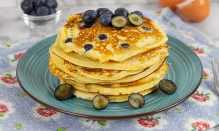 Best Keto Blueberry Pancakes (Fluffy, Buttery & Moist)