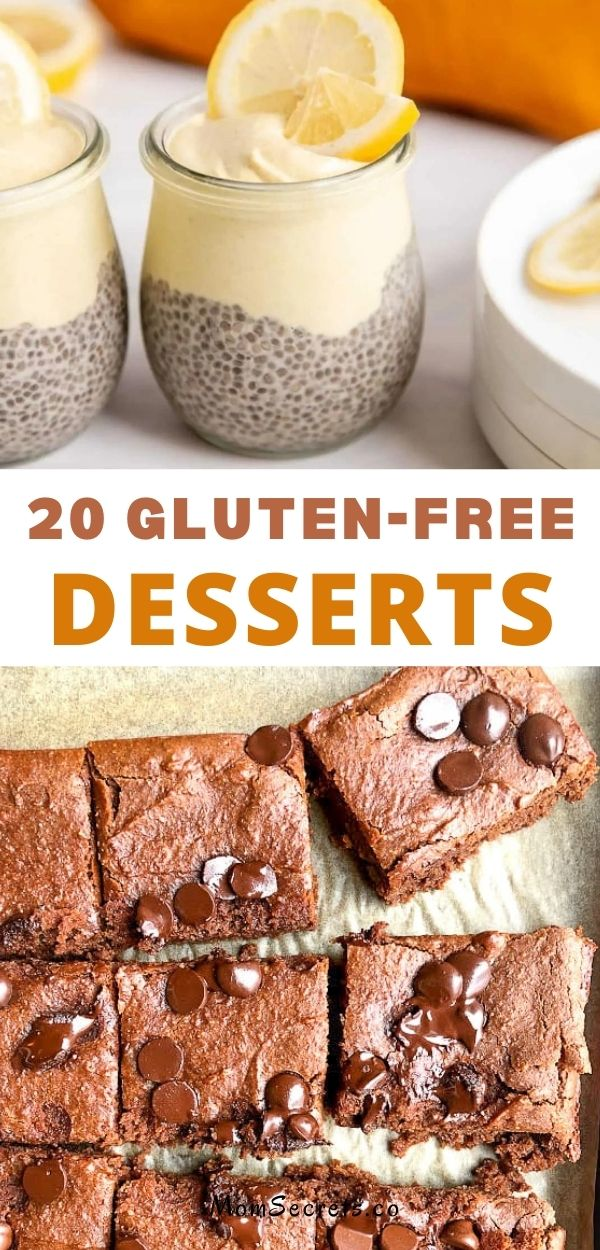 Gluten-free baking at its best! Satisfy your sweet tooth with these yummy gluten-free cakes, cupcakes, pies, cookies, bars, and donuts.