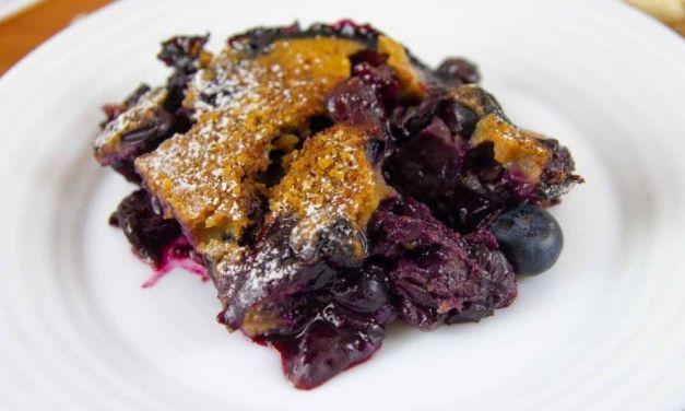 Healthy Blueberry Cobbler – Gluten-Free & Sugar-Free Recipe