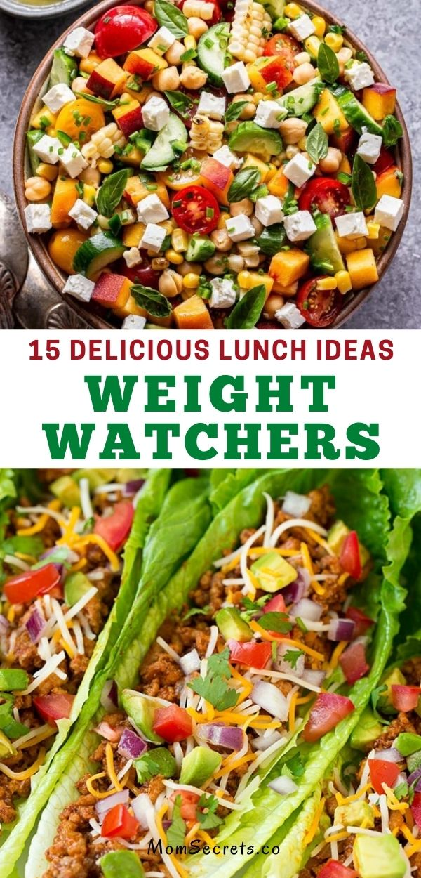 Here you will find 15 Weight Watchers Lunch Delicious Ideas. Take a look at the post and I am sure you will find an appropriate option for your lunch. #weightwatchers #lunchideas
