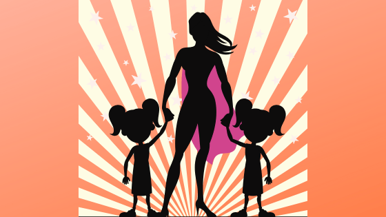 Picture of SuperMom Building Capacity with Two Children Mother's Day & Everyday