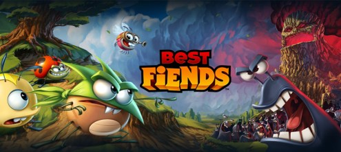 BEST FIENDS  It s Bugs VS Slugs In This Adorable Game for iOS and     BEST FIENDS  It s Bugs VS Slugs In This Adorable Game for iOS and Android