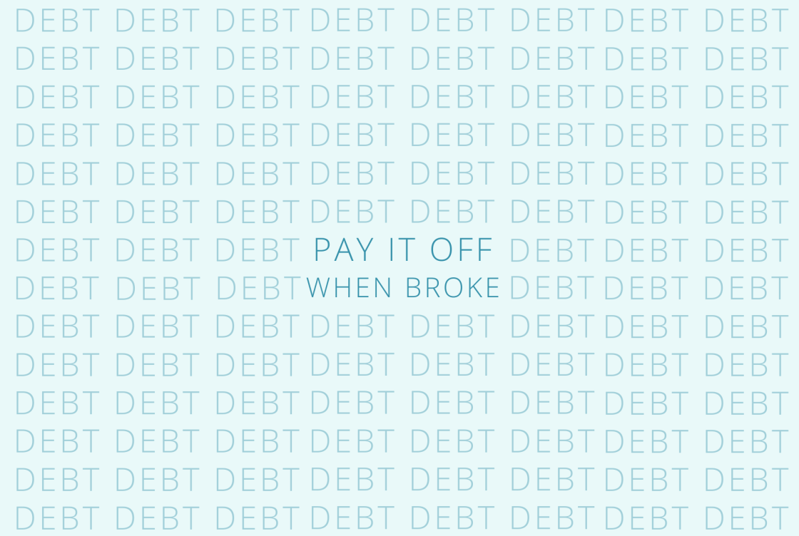 How to get rid of debt on a low income