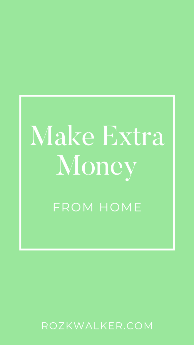 Make an Extra $500 a Month from Home