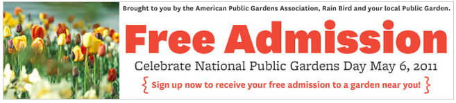 Free Botanical Gardens Admission On May 6, 2011 (including Longwood Gardens)