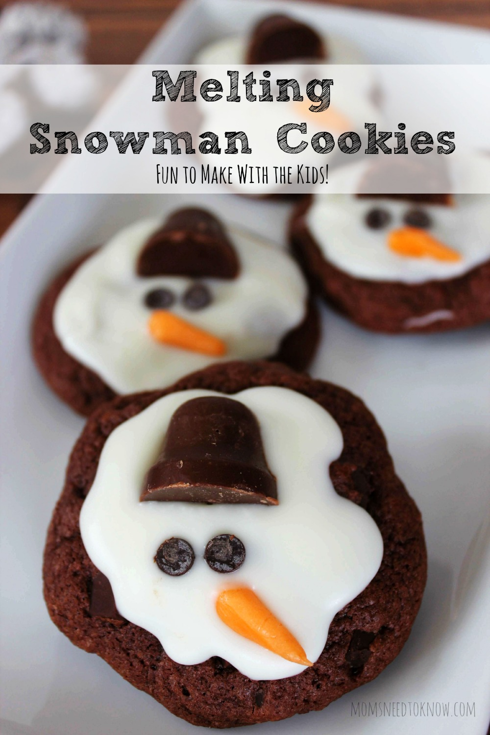 Melting Snowman Cookies Moms Need To Know