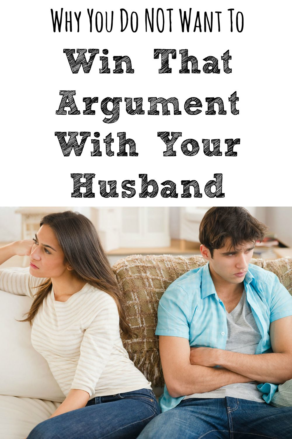 How to win an argument with your husband