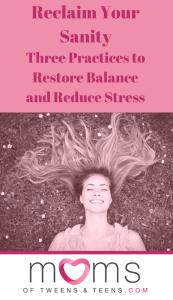 restore balance