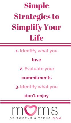 simplify your life, simplifying life