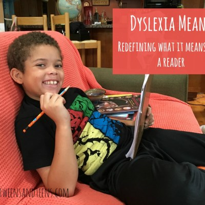 Re-Defining What Reading Means Now That My Son Has Dyslexia