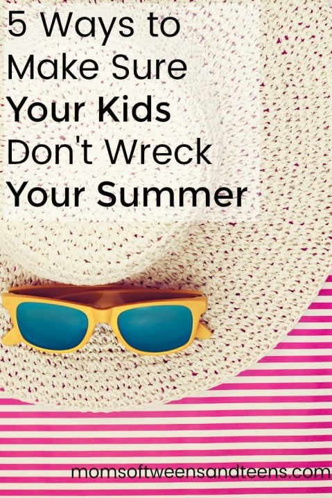 ways to enjoy my summer without my kids