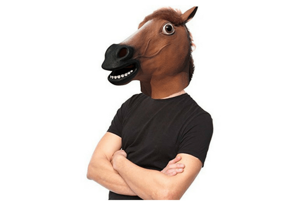 best horse head mask tween or teen