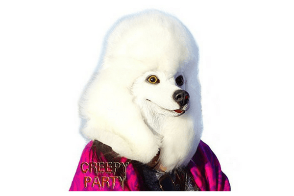 best dog poodle head mask teen tween
