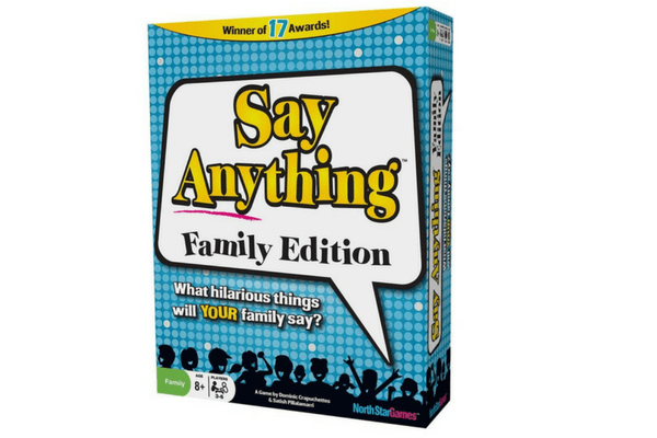 best family board games say anything