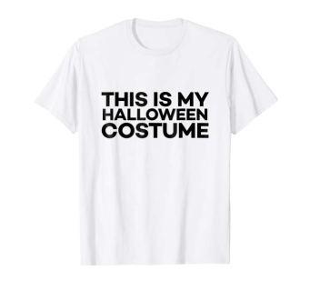 this is my halloween costume t shirt boy tween teen